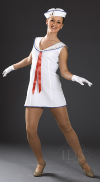Sailor Girl Dress and Hat